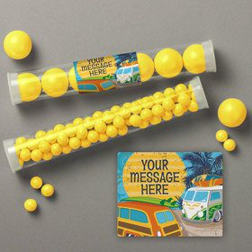 Surf's Up Personalized Candy Tubes (12 Count)