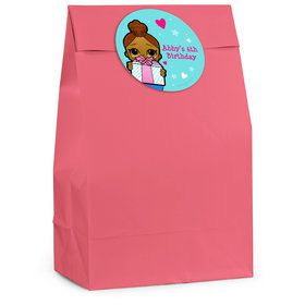 Surprise Dolls Personalized Favor Bag (12 Pack)