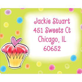 Sweet Celebration Personalized Address Labels (Sheet of 15)