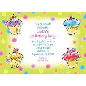 Sweet Celebration Personalized Invitation (each)