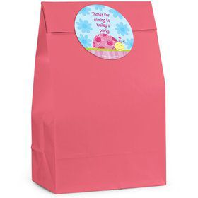 Sweet Ladybug Personalized Favor Bag (Set Of 12)