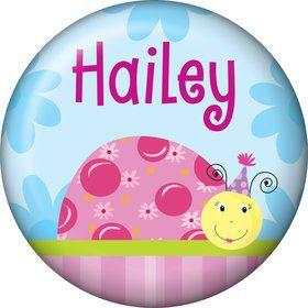Sweet Ladybug Personalized Mini Magnet (Each)