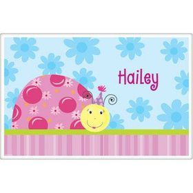Sweet Ladybug Personalized Placemat (each)