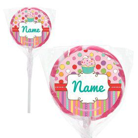 "Sweet Stuff Personalized 2"" Lollipops (20 Pack)"