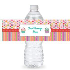 Sweet Stuff Personalized Bottle Labels (Sheet of 4)