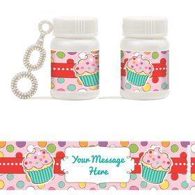 Sweet Stuff Personalized Bubbles (18 Pack)