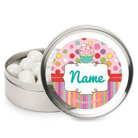 Sweet Stuff Personalized Candy Tins (12 Pack)