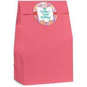 Sweet Stuff Personalized Favor Bags (Pack Of 12)