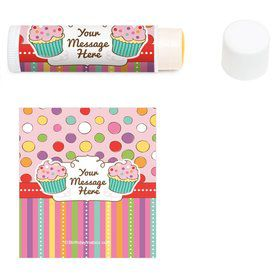 Sweet Stuff Personalized Lip Balm (12 Pack)