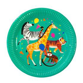 Talking Tables Party Animals Lunch Plates (8)