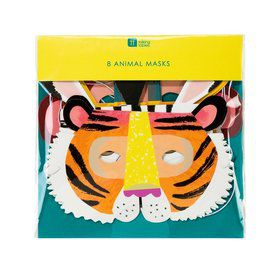 Talking Tables Party Animals Paper Masks (8)