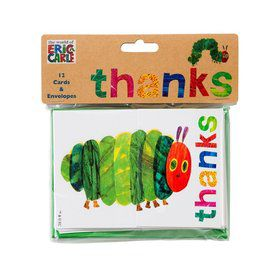 Talking Tables The Very Hungry Caterpillar Post Card Thank Yous with Envelope (12)