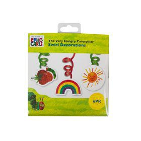 Talking Tables The Very Hungry Caterpillar Swirl Decoration (6pcs)