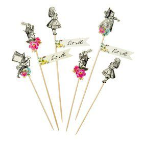 Talking Tables Truly Alice Assorted Party Pick Set (12)