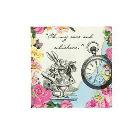 Talking Tables Truly Alice Beverage Napkin (20)