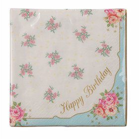 Talking Tables Truly Scrumptions Happy Birthday Lunch Napkin (20)