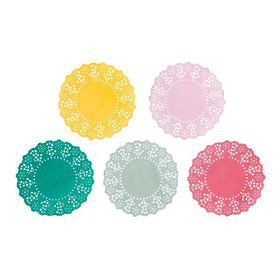 Talking Tables Truly Scrumptious Mini Paper Doilies (100 count)