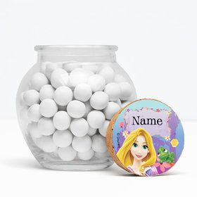 "Tangled Personalized 3"" Glass Sphere Jars (Set of 12)"