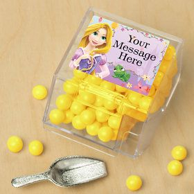 Tangled Personalized Candy Bin with Candy Scoop (10 Count)