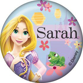 Tangled Personalized Mini Button (Each)