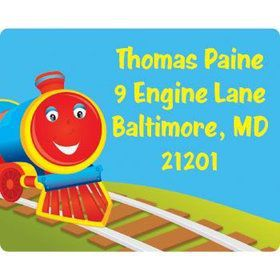 Tank Engine Personalized Address Labels (sheet of 15)