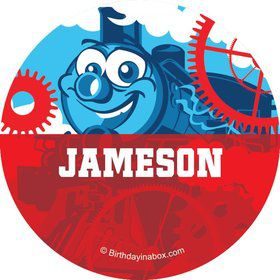 Tank Engine Personalized Button (each)