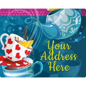 Tea Party Personalized Address Labels (Sheet of 15)