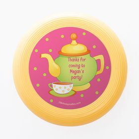 Tea Party Personalized Mini Discs (Set of 12)