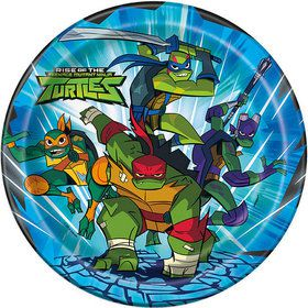 "Teenage Mutant Ninja Turtles 9"" Plates (8)"