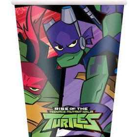Teenage Mutant Ninja Turtles 9oz Paper Cups (8)