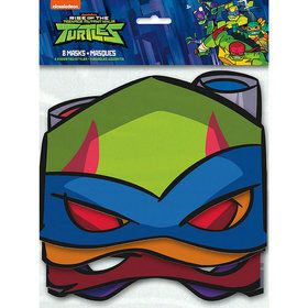 Teenage Mutant Ninja Turtles Party Masks (8)