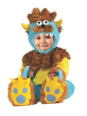 Teeny Meanie Monster Infant Costume