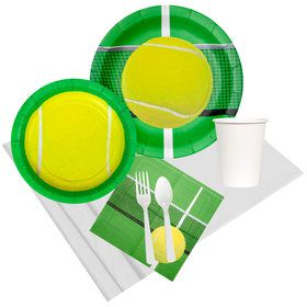 Tennis Party Pack for 8