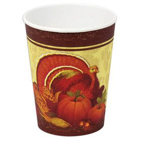Thanksgiving 9oz Paper Cups (8)