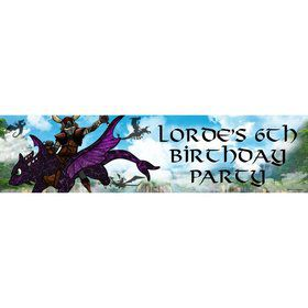 The Dragon Whisperer Personalized Banner (Each)