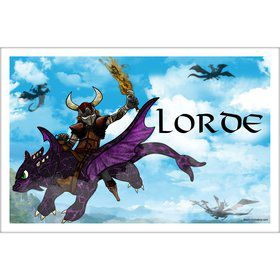 The Dragon Whisperer Personalized Placemat (Each)
