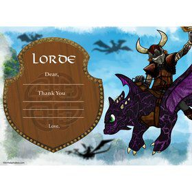 The Dragon Whisperer Personalized Thank You Note (Each)