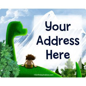 The Friendly Dinosaur Personalized Address Labels (Sheet of 15)