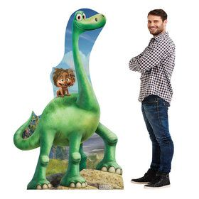 The Good Dinosaur Arlo & Spot Cardboard Standup