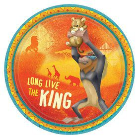 The Lion King Dessert Plates (8)