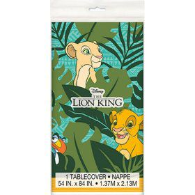 The Lion King Plastic Tablecover 54x 84