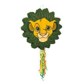 The Lion King Shaped Pull String Pinata