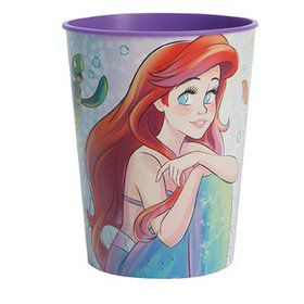 The Little Mermaid 16oz Plastic Favor Cup
