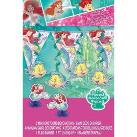 The Little Mermaid Decoration Kit (7pcs)