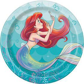 The Little Mermaid Dessert Plates (8)