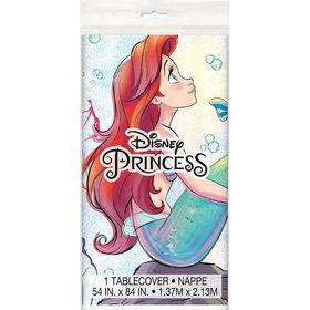 The Little Mermaid Plastic Tablecover 54 x 84