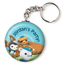 "The Octonauts Personalized 2.25"" Key Chain (Each)"