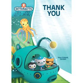 The Octonauts Personalized Thank You (Each)