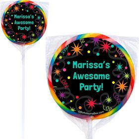 The Party Continues Lollipops (Pack Of 12)