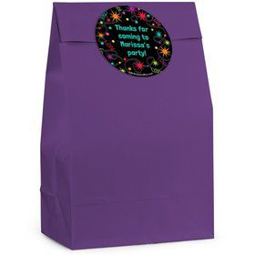 The Party Continues Personalized Favor Bag (Set Of 12)